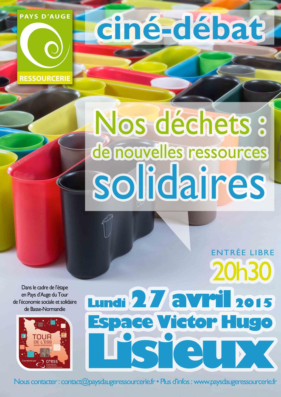 Pays d'Auge Ressourcerie organise un débat autour du recyclage