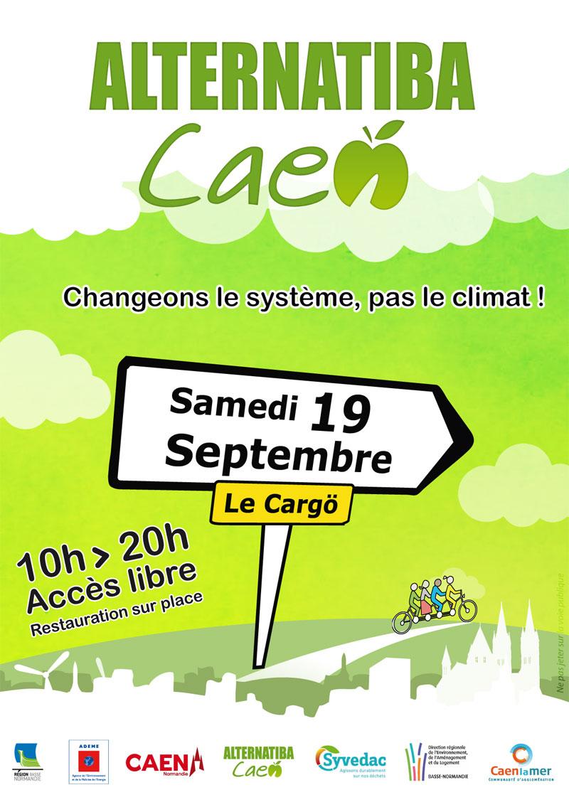 Pays d'Auge Ressourcerie à Alternatiba Caen le 19 septembre 2015