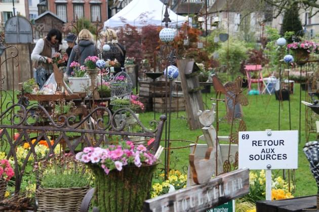 Pays d'Auge Ressourcerie à la fête des jardins et de la nature